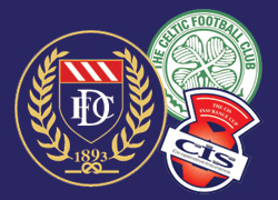 CIS Cup Dundee v Celtic
