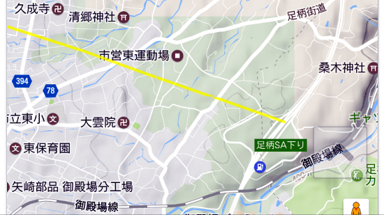 ダイヤモンド富士見える場所2