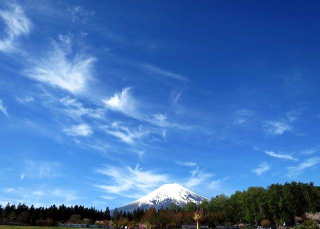 道の駅富士吉田富士山
