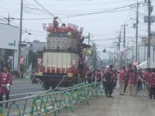 渋川山車祭り2
