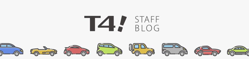 T4!  STAFF BLOG イメージ画像