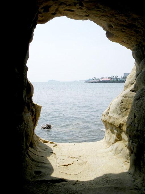 小坪の洞窟
