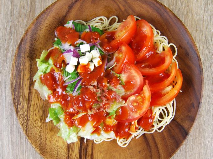 【むくみ解消】栄養価の高いトマトの冷製パスタで医者いらず!