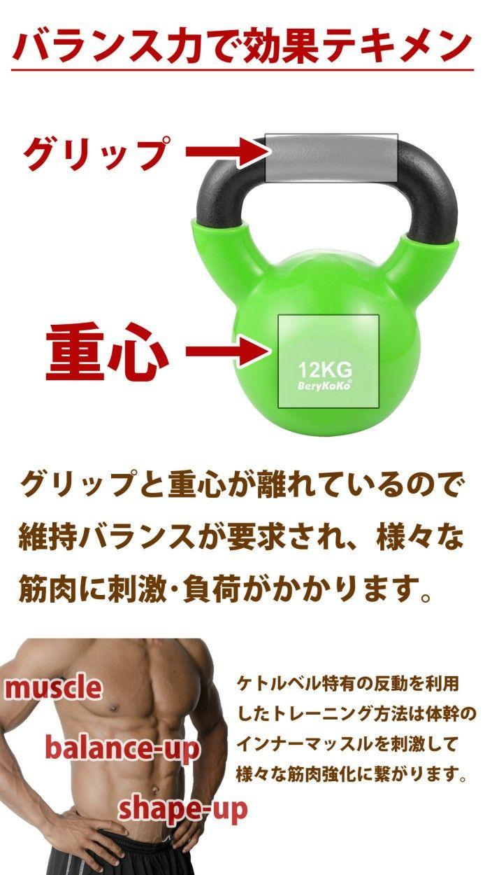 【体幹強化】効果的な筋トレをするならケトルベルを使うといい!