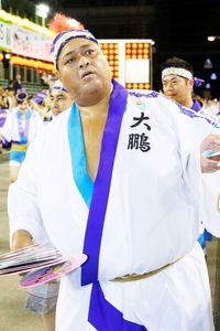 【阿波おどり】林家三平らが参加した阿波踊りに美人○○も一緒に!