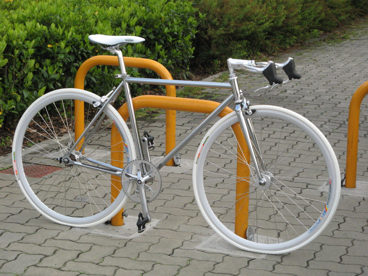 ... 乗り自転車製作、着々と進行中