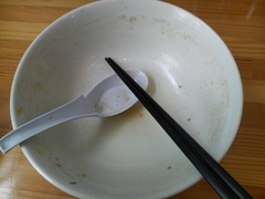 味噌盛・完食