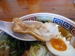 日の出製麺所・鶏チャーシュー