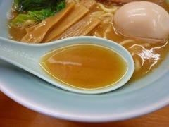 梅家 魚介とんこつスープ