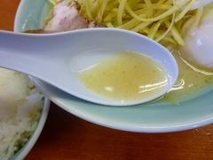 壱七家 塩スープ