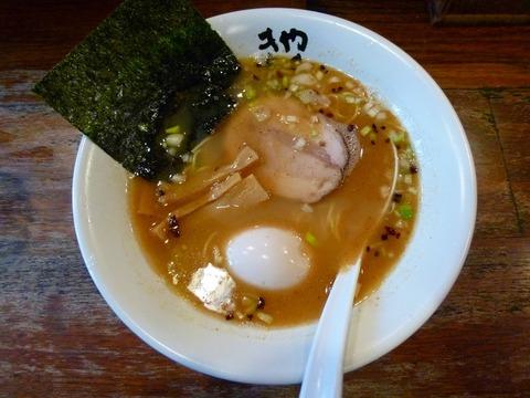 魚介とんこつ+味玉