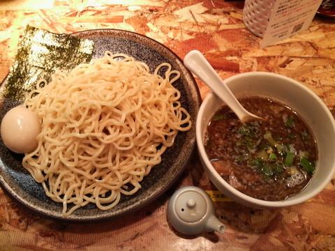 オハナ堂魚介とんこつつけ麺+魚介ダシ入り味玉子