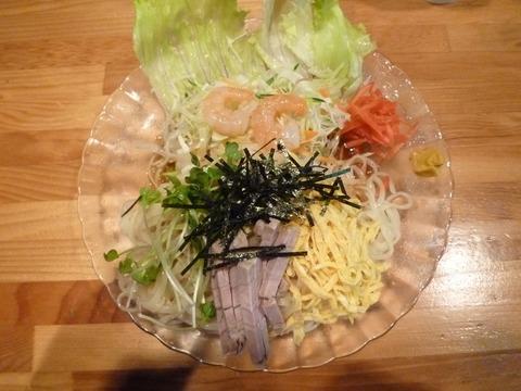 鈴木 サラダ風夏麺
