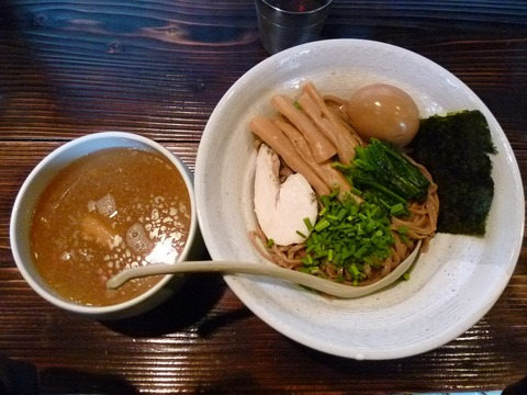 ザ・塩つけ麺+味付玉子