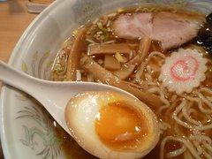 大勝軒桜木町店・味玉・メンマ