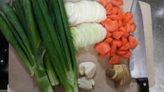 ダシ用野菜