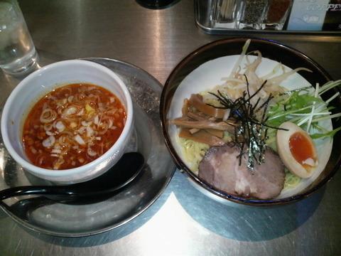 ZUND−BAR冬の味噌つけ麺