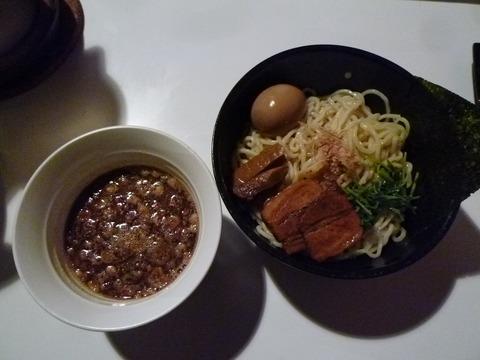 楓つけ麺+味玉