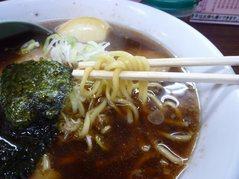 三浦屋・醤油ラーメン・麺