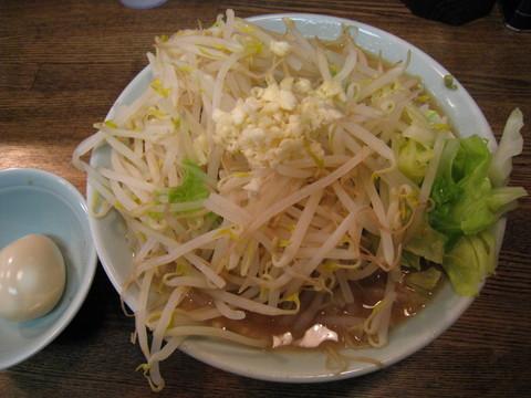 金太郎・小ラーメン+味付玉子