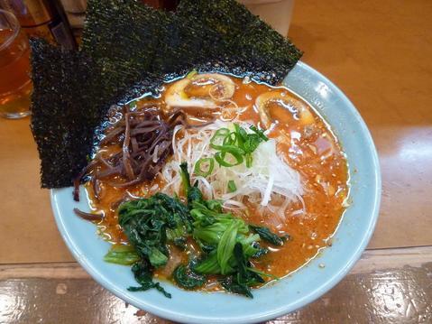 横浜家・ゲキカララーメン+たまご(1個)