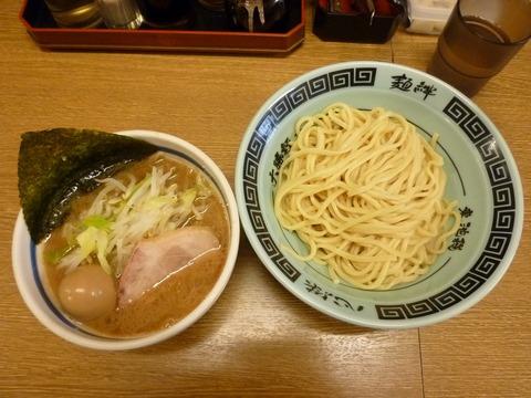 野菜つけ麺+味玉