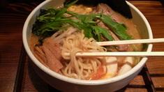 くらかど濃厚味噌ら〜麺・麺