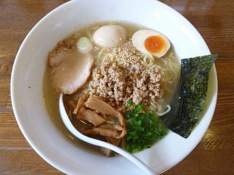 塩大ちゃんラーメン+味玉