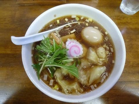 醤油わんたん麺+味玉