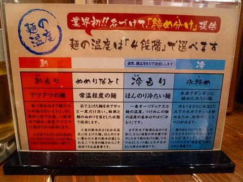三ツ矢堂製麺麺の〆方