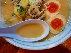 日の出製麺所味噌スープ