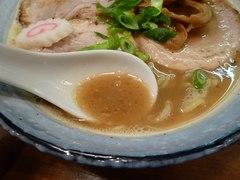ひとふんばり・らーめん・スープ