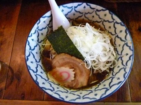 醤油らー麺+ねぎ増し
