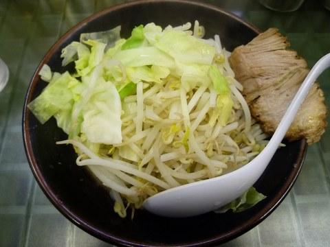 ぎょうてん海老名 ぎ朗(小)油少なめ+(ぎ朗)野菜増し