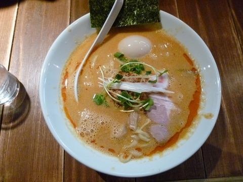 塩坦々麺+地鶏味玉