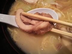 古寿茂・鶏白湯らーめん・鶏チャーシュー