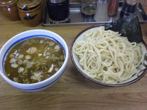 金田大勝軒・特製もりそば+半熟味たま