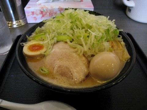 清勝丸 濃厚味噌らーめん+半熟玉子+ネギ