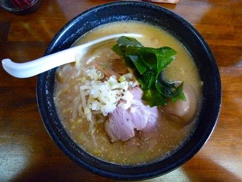 味噌らぁ麺+味玉