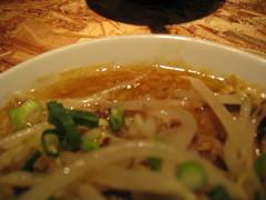 オハナ堂味噌とんこつスープ近影