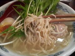 小野橋大勝軒塩ラーメン・麺