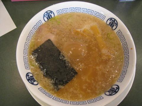 寅・寅そば+半トロ煮玉子