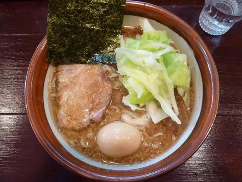 天空・らーめん+味付玉子