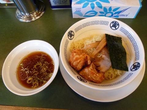 鶏唐つけ麺