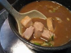 夜鳴き軒・つけ麺・具
