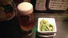 慶ビール・おつまみ
