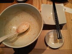 一風堂からか麺・完食