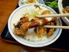 麺や食堂 チキンカツライス