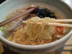 源平塩煮たまご・麺