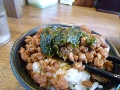 海苔巻き肉丼